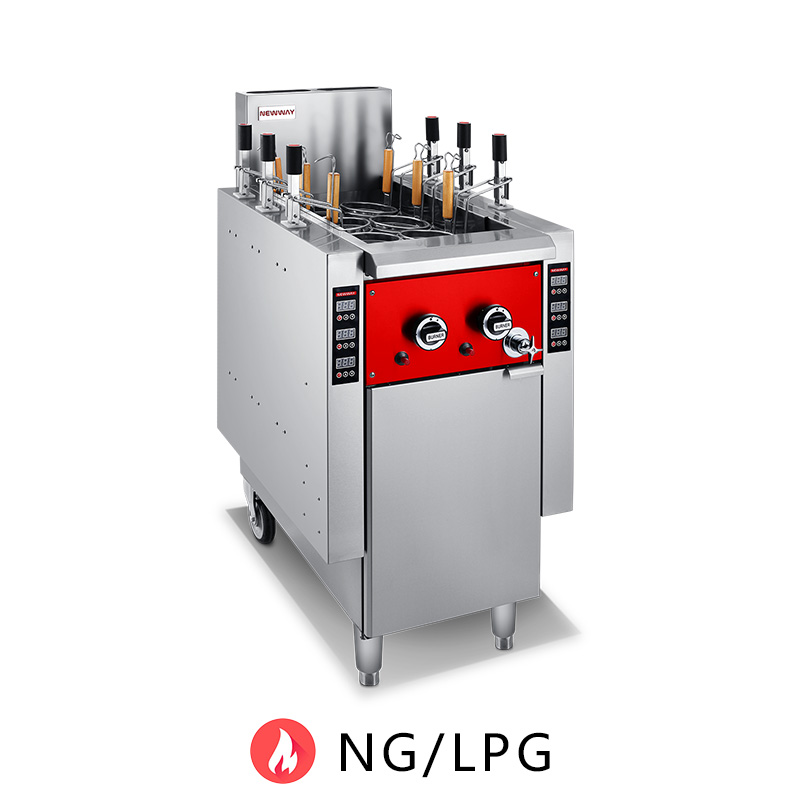 Gas Noodle Cooker  with Autolifting